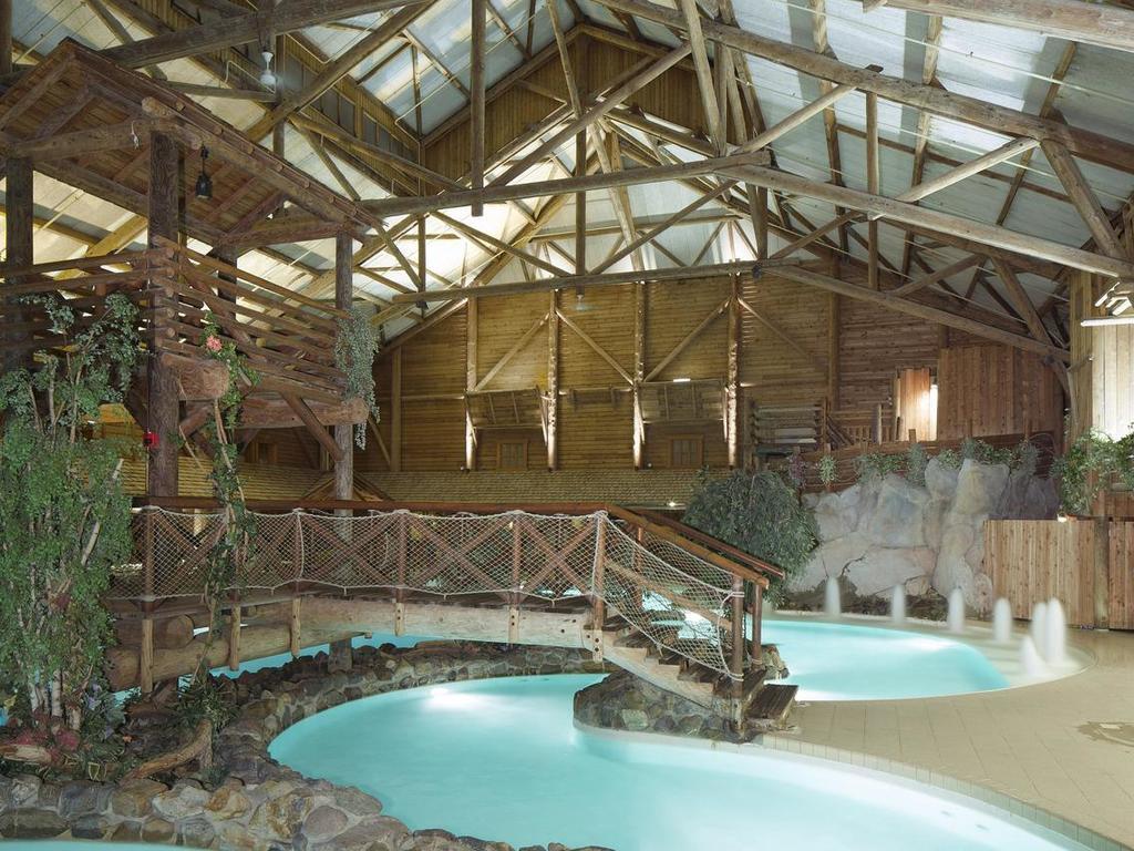 Camping Ranch Davy Crockett - Bailly-Romainvilliers > Mobil ... intérieur Piscine Davy Crockett