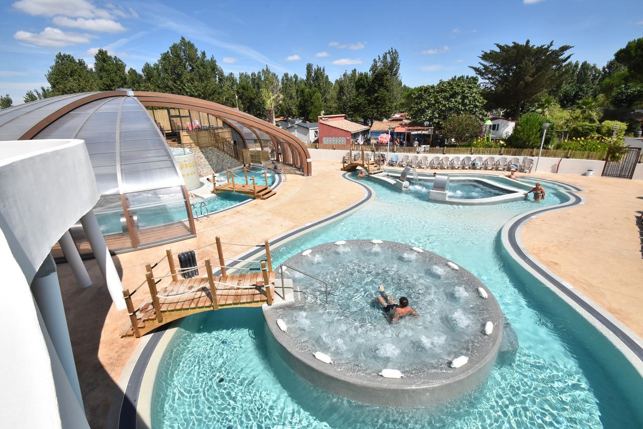 Camping & Spa Cap Soleil (Fransa Vias) - Booking dedans Piscine Sainte Genevieve Des Bois