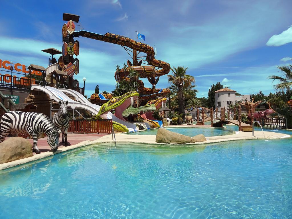 Camping & Spa Cap Soleil, Vias, France - Booking dedans Piscine Avec Toboggan Ile De France