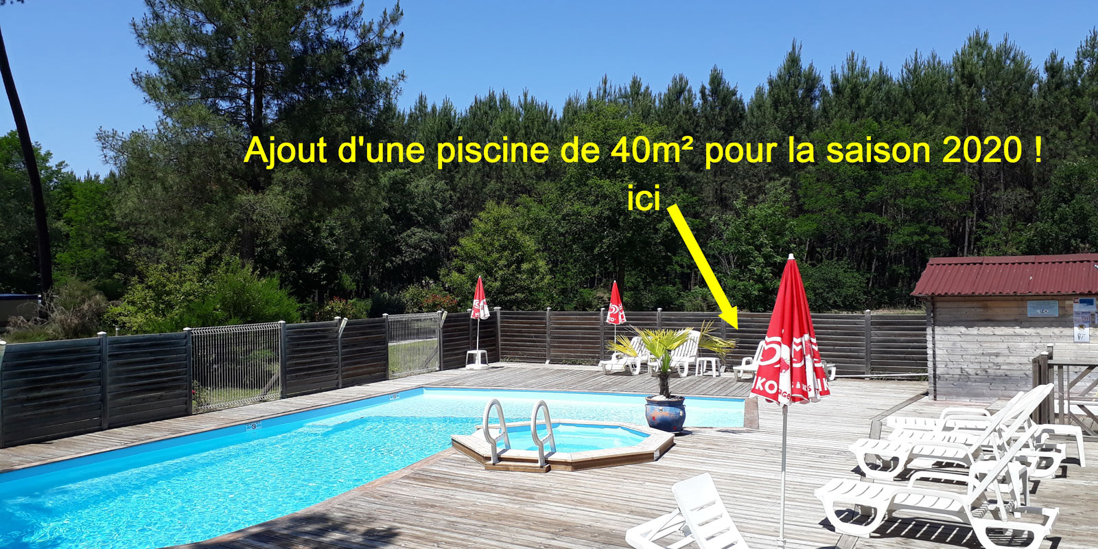 Camping Sud Gironde Foret Des Landes - Bordeaux à Camping Landes Avec Piscine