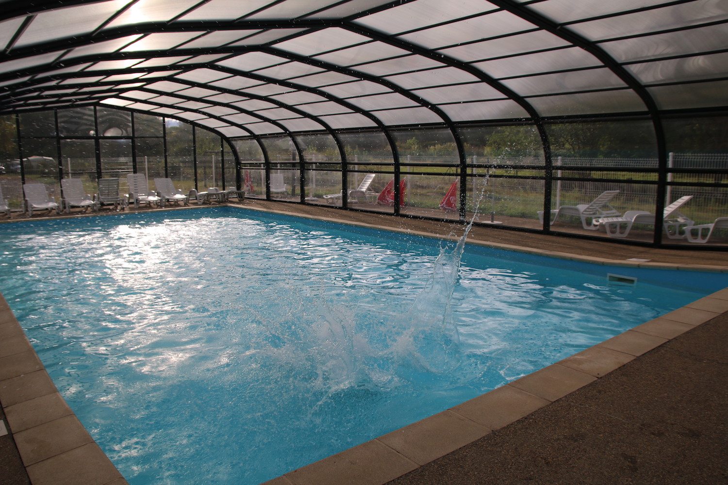 Camping Vichy - Camping Auvergne - Camping Vichy tout Piscine Les Abrets