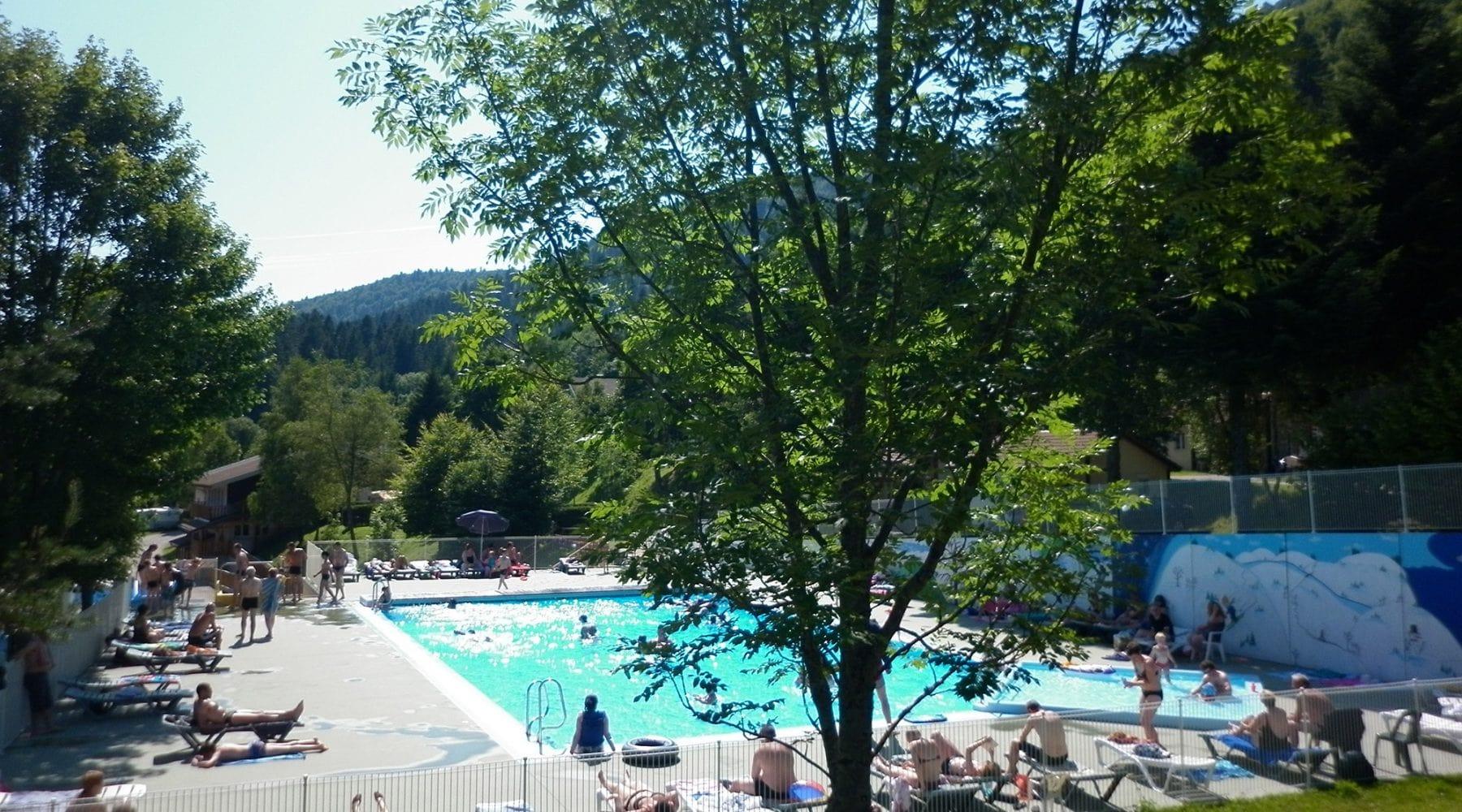 Camping Vosges   Camping Belle Hutte La Bresse Proche Gerardmer pour Camping Gérardmer Avec Piscine