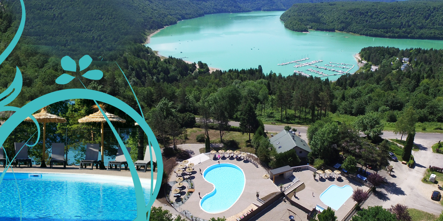 Campings Jura - Trelachaume - Lac De Vouglans - Piscine ... destiné Camping Jura Piscine