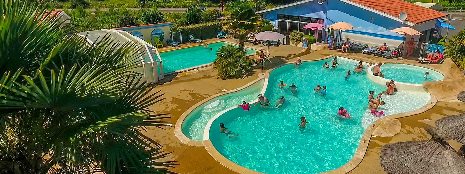 Campsite Landes | Campsite Between Biscarrosse Lake And ... concernant Camping Mimizan Avec Piscine