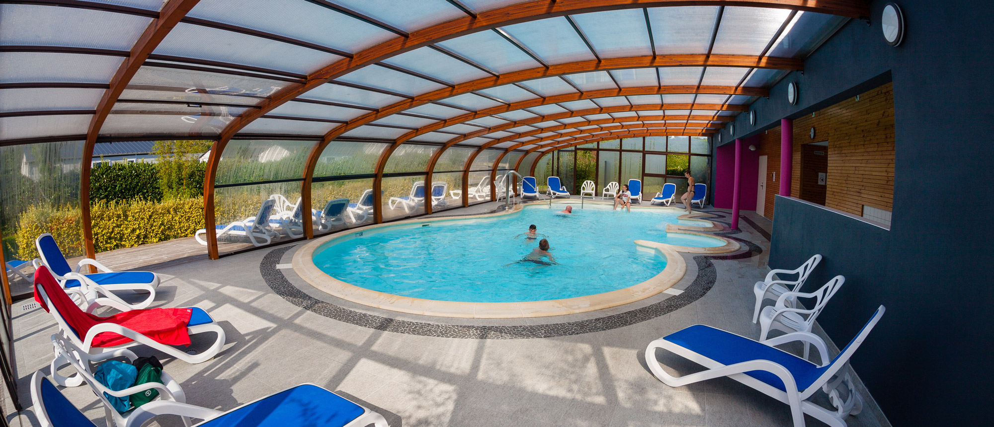 Campsite With Heated Pools In The Finistère For The Whole ... destiné Piscine Saint Pol Sur Mer