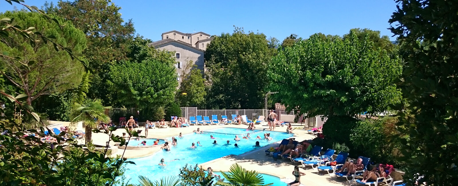 Campsite With Swimming Pool On The Edge Of Two Rivers - Drôme destiné Piscine Drome