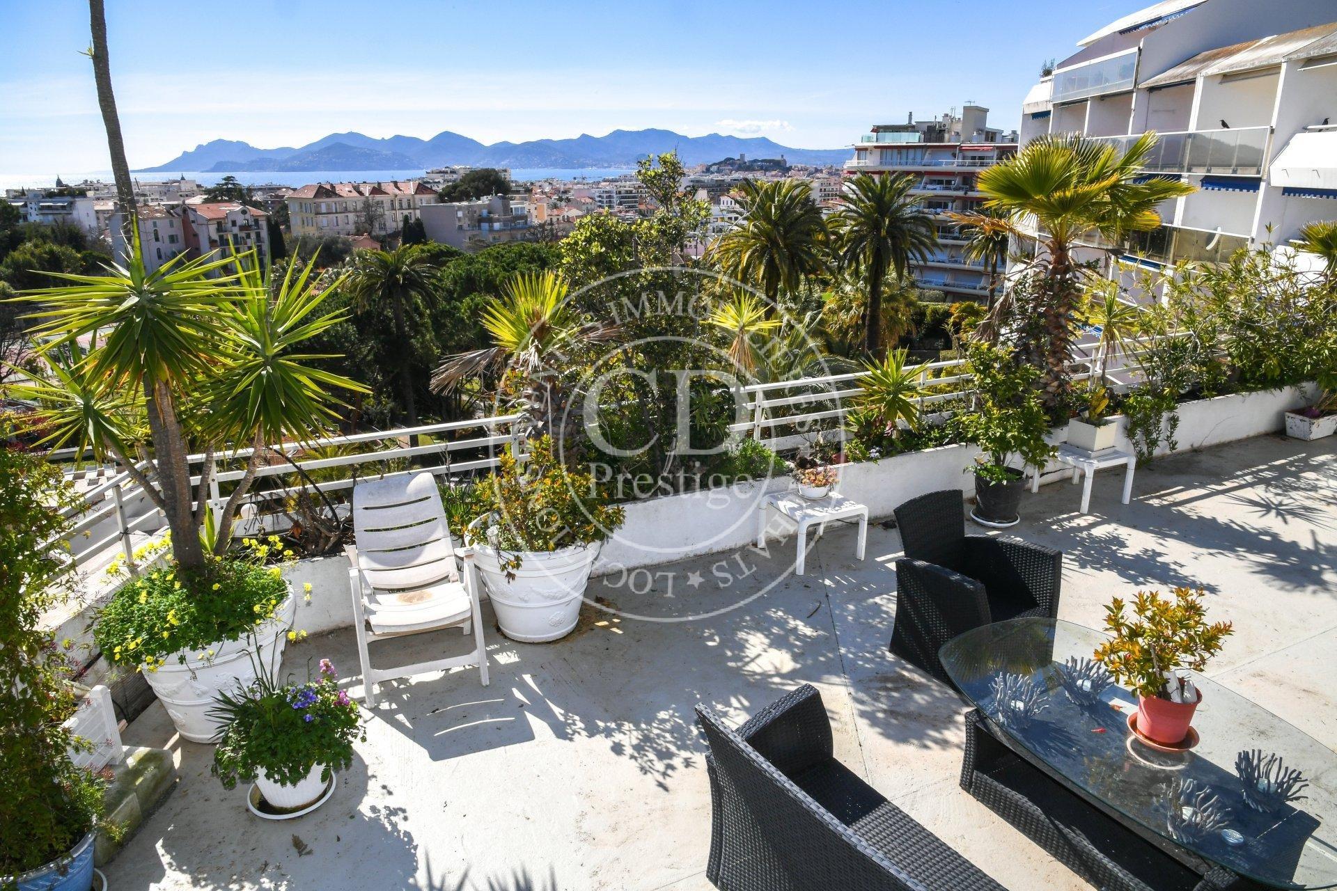 Cannes Montfleury 3P Grande Terrasse avec Piscine Montfleury