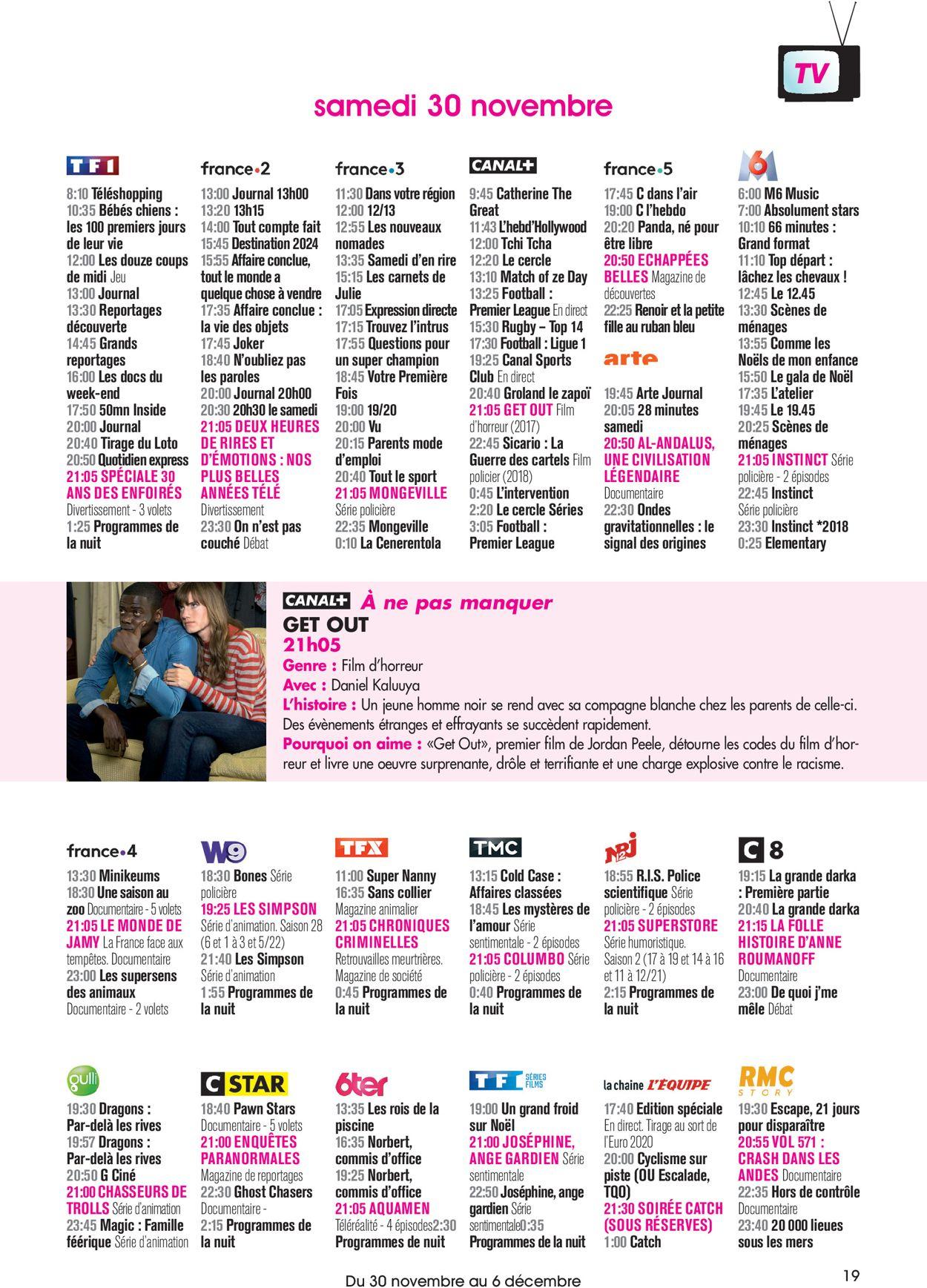 Carrefour Catalogue Actuel 30.11 - 06.12.2019 [19 ... tout Couche Piscine Carrefour