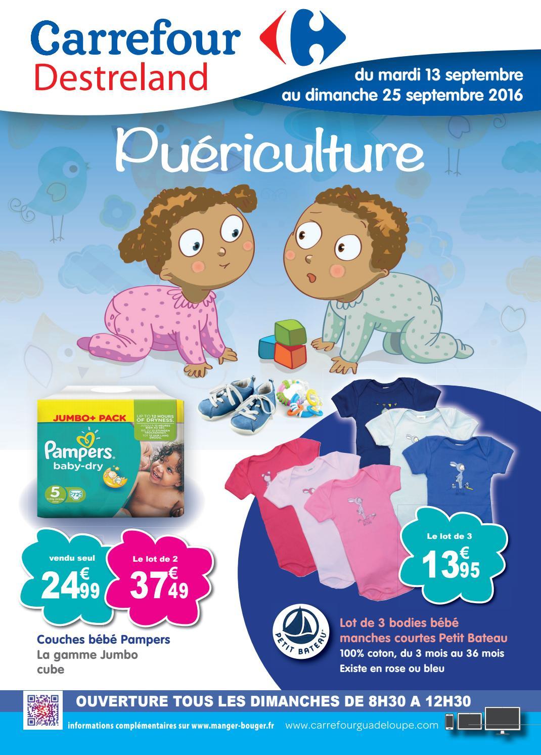 Carrefour Destreland : Puériculture (Du 13 Au 25 Septembre ... pour Couche Piscine Carrefour