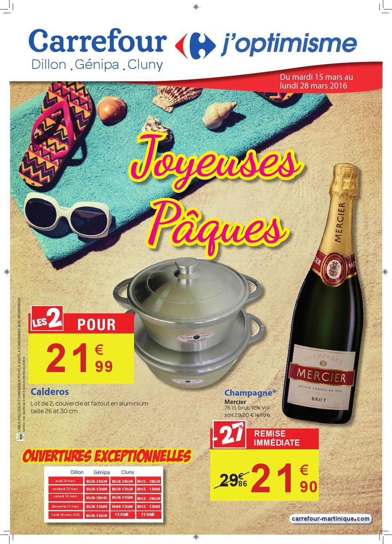 Carrefour : Joyeuses Pâques (Du 15 Au 28 Mars 2016) By ... à Dalle Mousse Piscine Carrefour