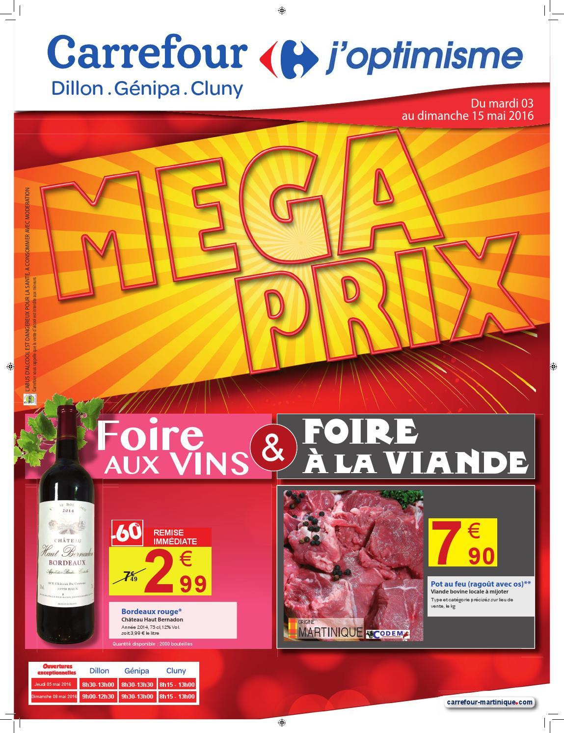 Carrefour : Mega Prix - Foire Aux Vins & Foire À La Viande ... destiné Dalle Mousse Piscine Carrefour