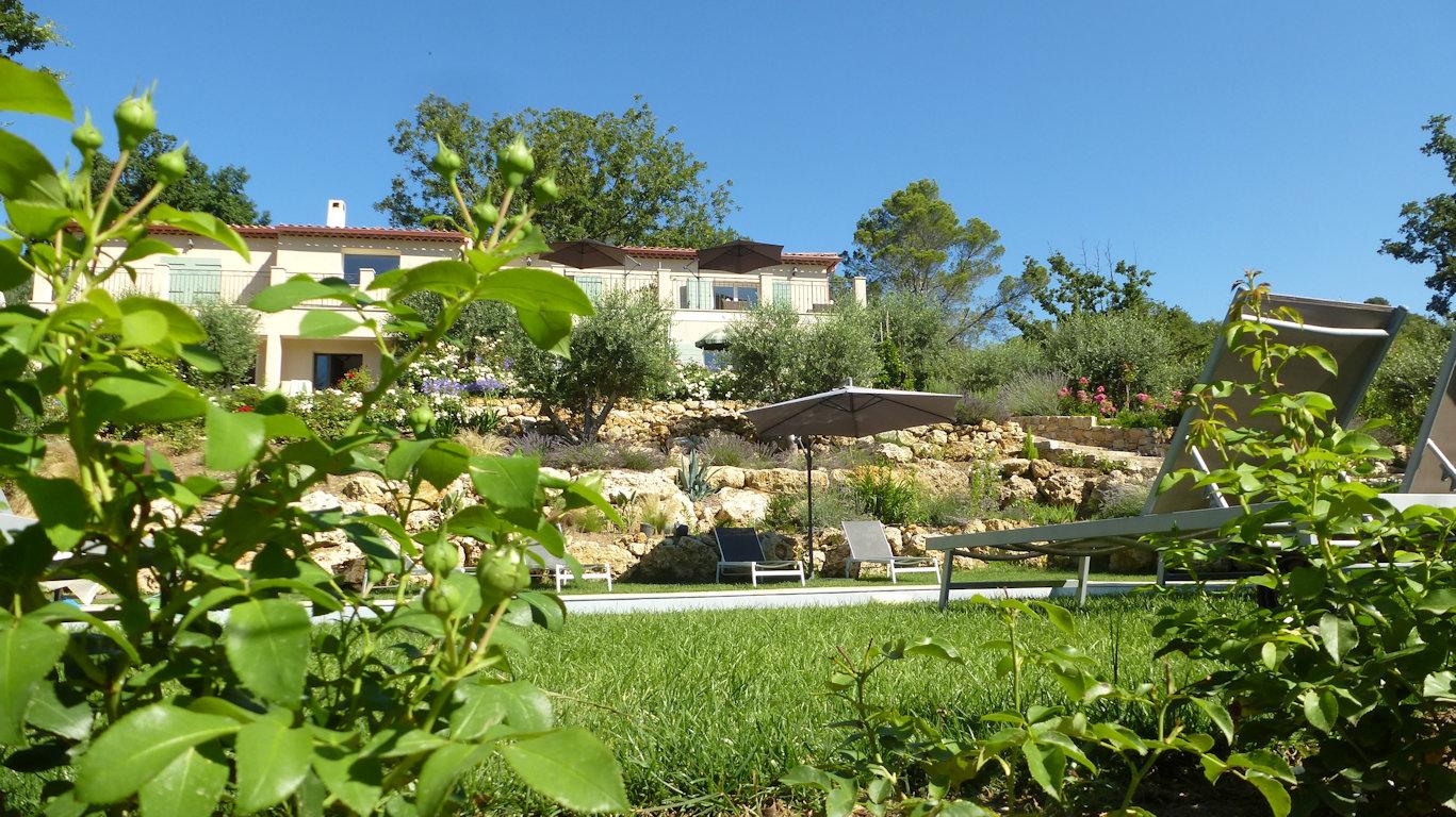 Casas Rurales Le Vallon Des Oliviers, Pays De Fayence ... tout Piscine Eragny