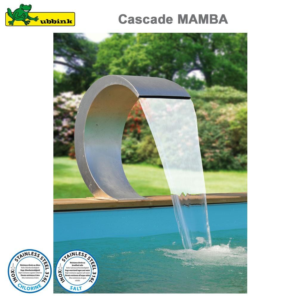 Cascade Pour Piscine Mamba Inox 316 avec Cascade Pour Piscine