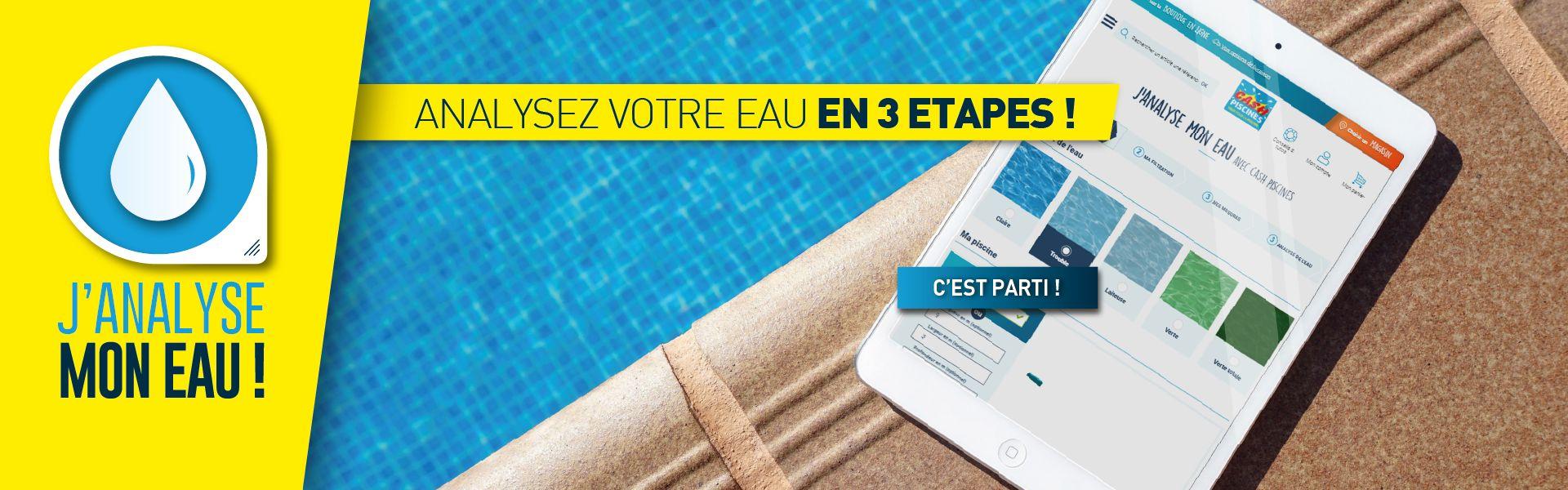 Cash Piscines - Tout Pour La Piscine & Spas Gonflables ... tout Analyse Eau Piscine