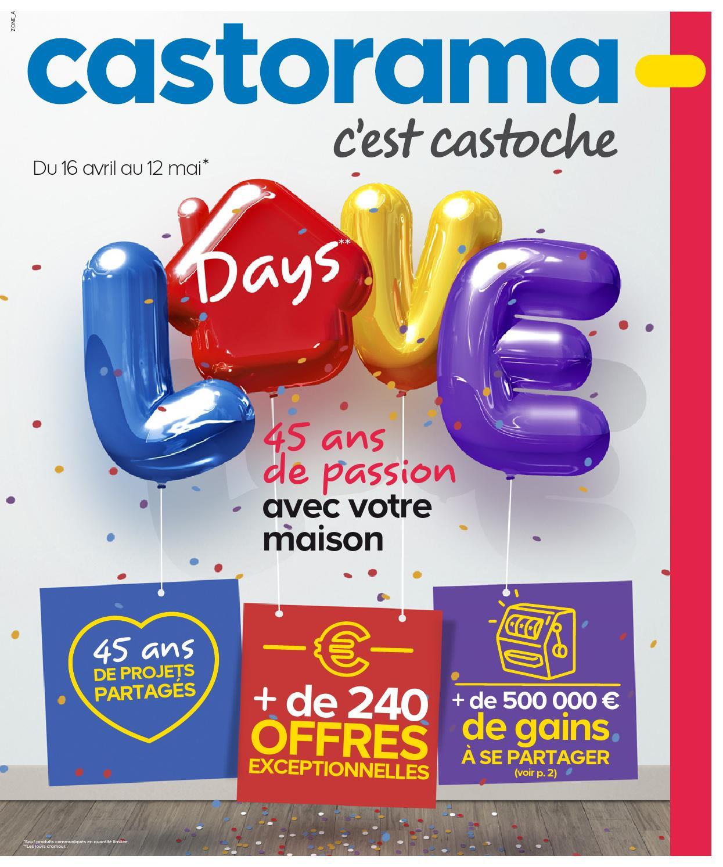 Castorama Catalogue 16Avril 12Mai2014 By Promocatalogues ... encequiconcerne Piscine Autoportée Castorama