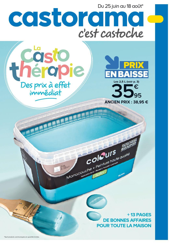 Castorama Catalogue 25Juin 18Aout2014 By Promocatalogues ... concernant Enrouleur Bache Piscine Castorama