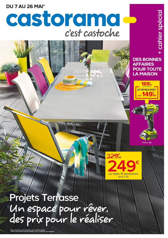 Castorama Catalogue 7 26Mai2014 By Promocatalogues - Issuu concernant Piscine Tubulaire Castorama