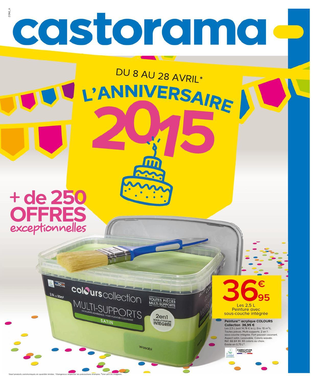 Castorama Catalogue 8 28Avril2015 By Promocatalogues - Issuu dedans Dalle Piscine Castorama