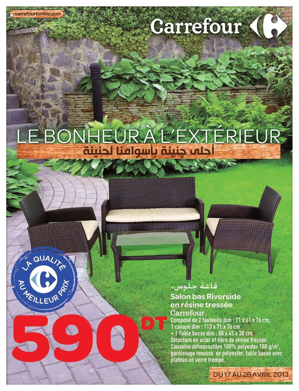 Catalogue Carrefour Le Bonheur À L'extérieur By Carrefour ... dedans Dalle Mousse Piscine Carrefour
