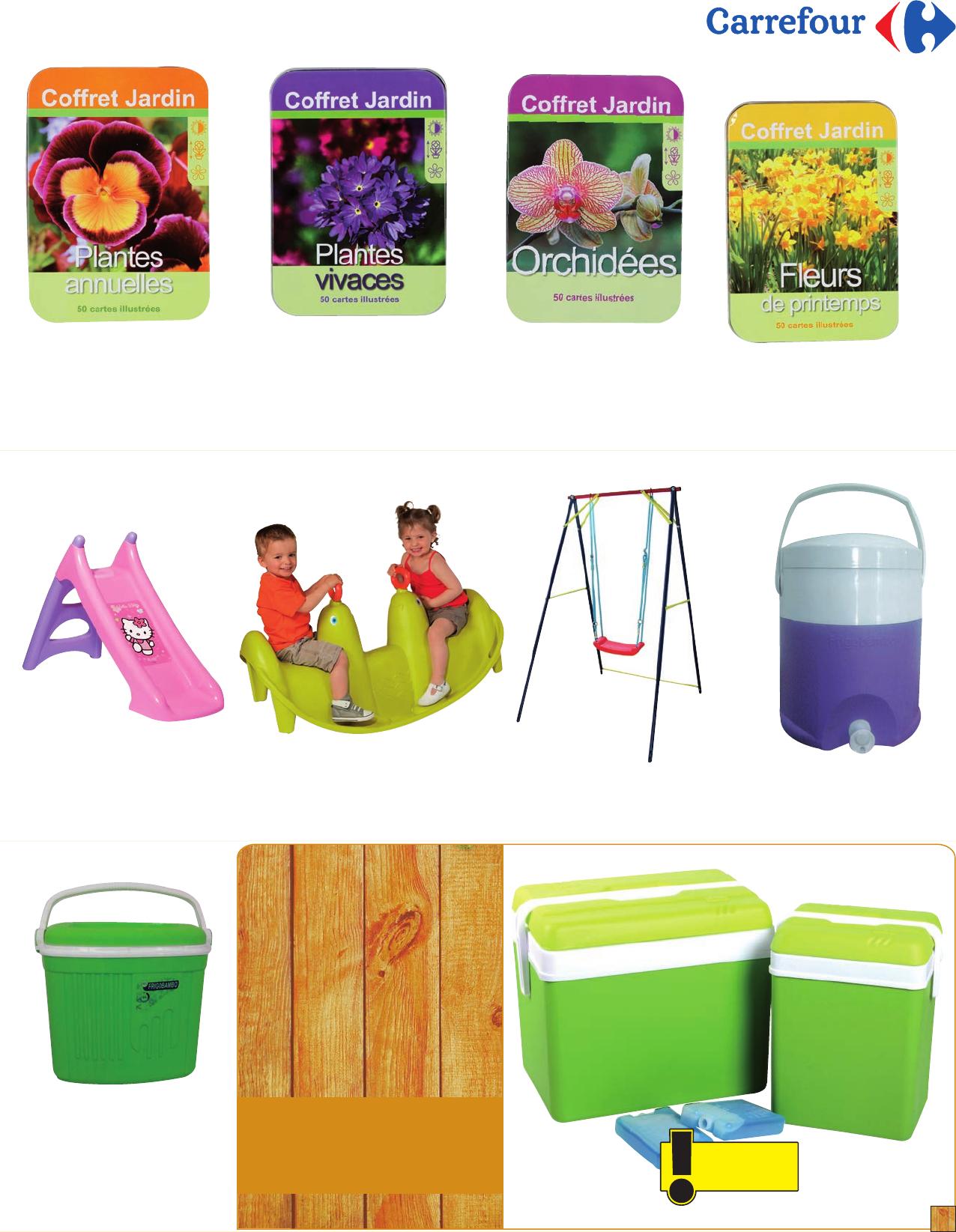 Catalogue Carrefour Le Bonheur L'extrieur - [Pdf Document] avec Dalle Mousse Piscine Carrefour