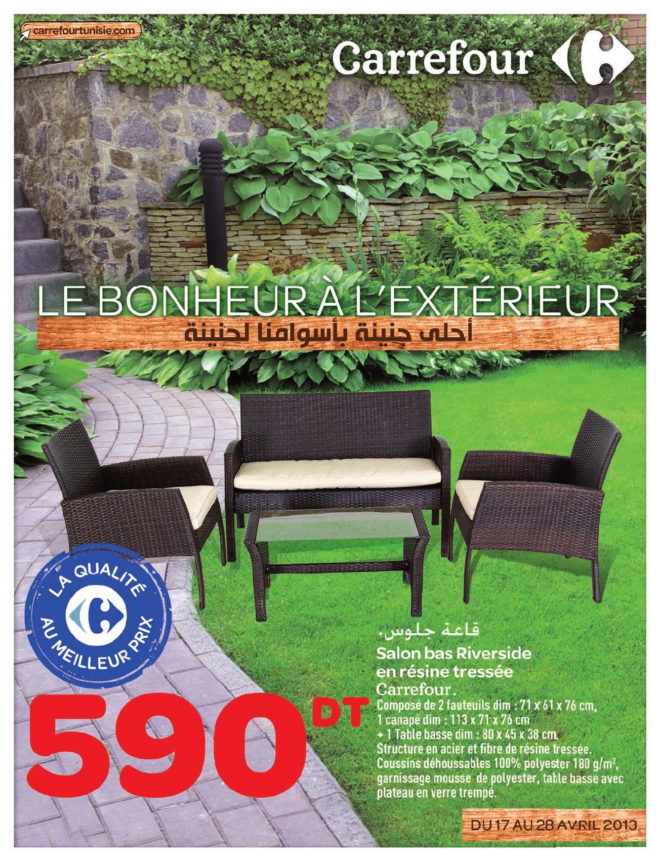 Catalogue Carrefour Le Bonheur L'extrieur - [Pdf Document] encequiconcerne Couche Piscine Carrefour
