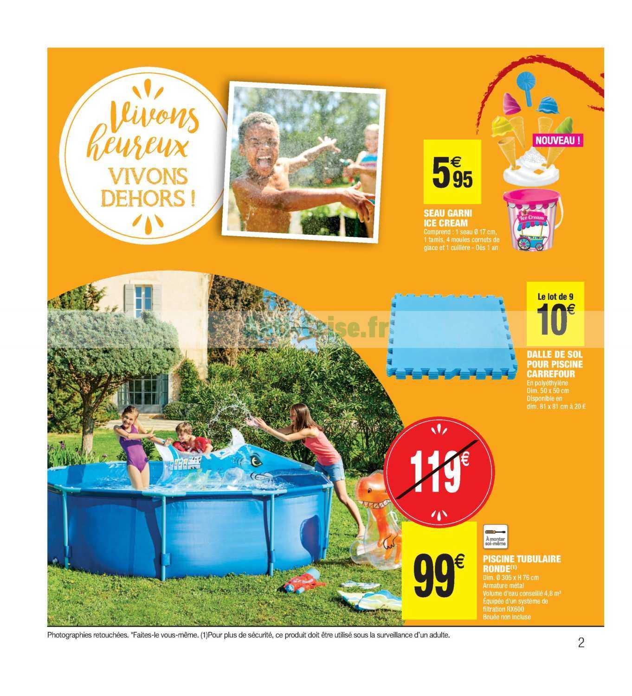 Catalogue Carrefour Market Du 23 Avril Au 05 Mai 2019 (Plein ... dedans Piscine Enfant Carrefour