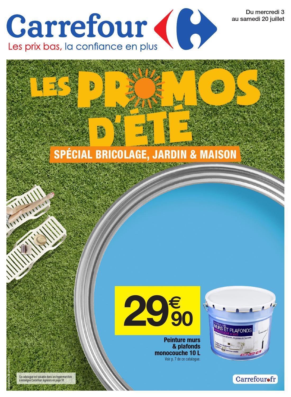 Catalogue Carrefour Promo D'été By Margot Ziegler - Issuu destiné Dalle Mousse Piscine Carrefour