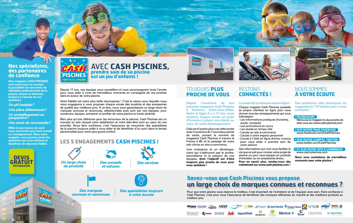Catalogue Cash Piscine 2017 By Octave Octave - Issuu encequiconcerne Cash Piscine Agen