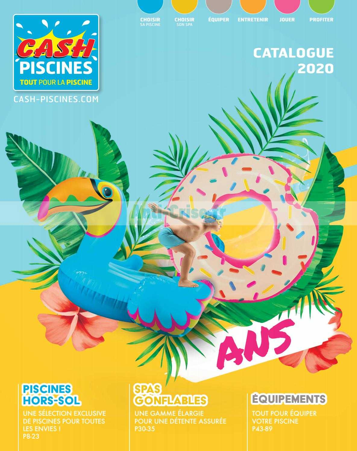 Catalogue Cash Piscines Du 01 Janvier Au 31 Décembre 2020 ... dedans Cash Piscine Catalogue