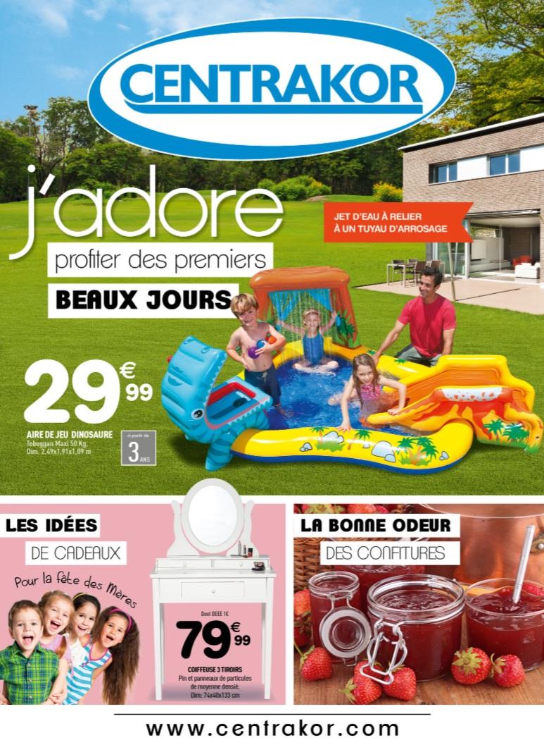 Catalogue Centrakor Offres Terrasse 2015 - Catalogue Az pour Piscine Centrakor