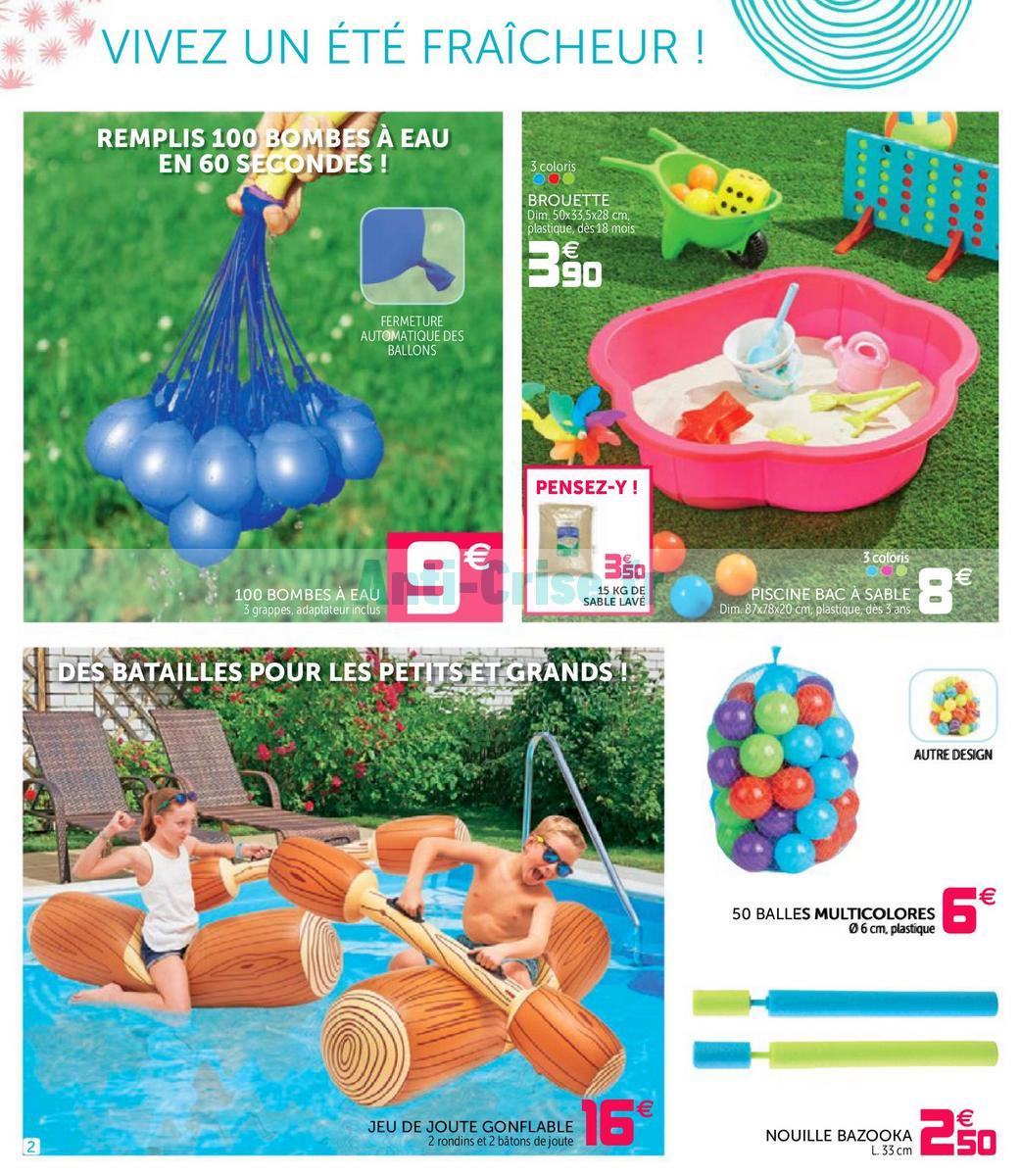 Catalogue Gifi Du 24 Juillet Au 6 Août 2018 - Catalogues ... pour Piscine A Balle Gifi