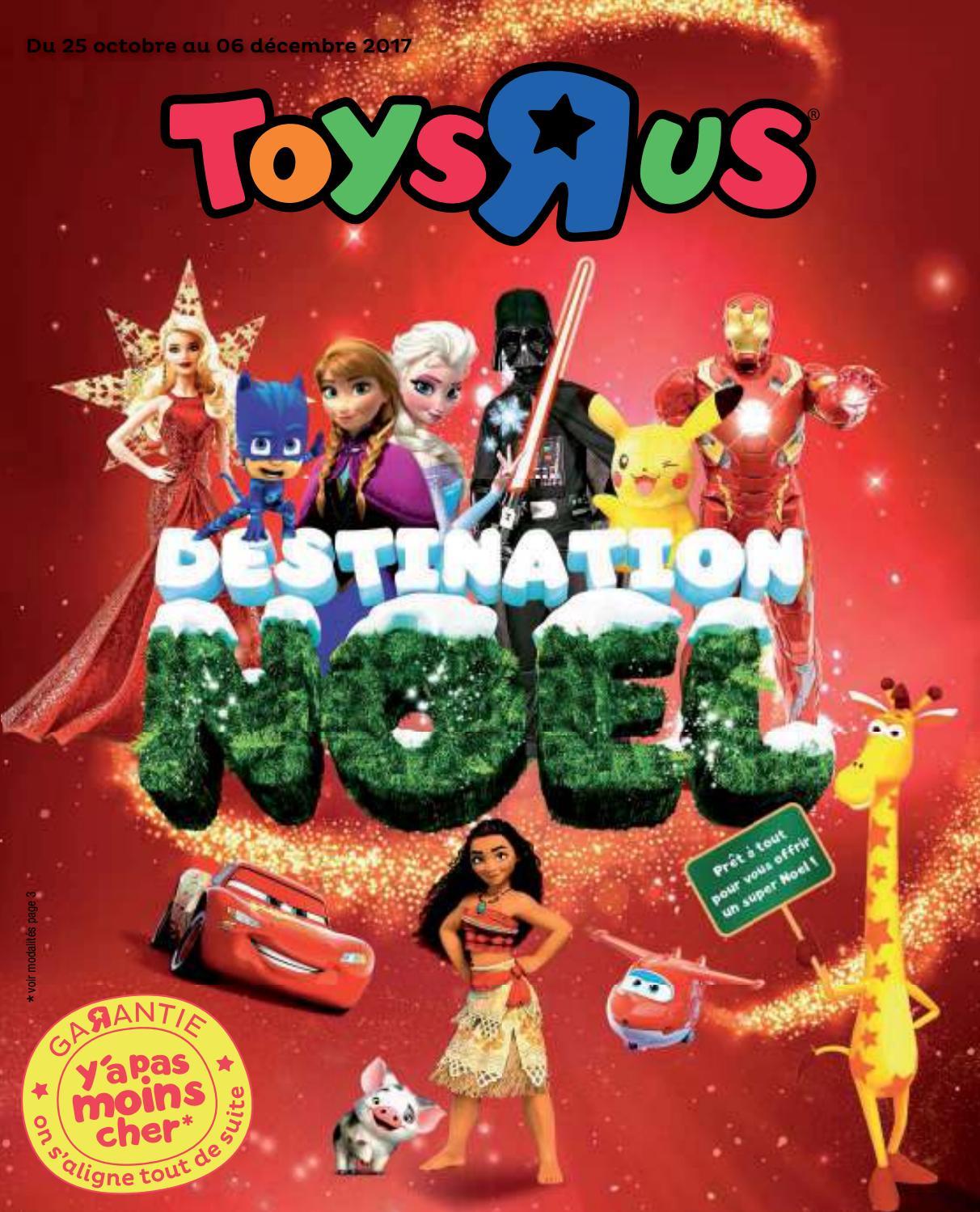 Catalogue Jeux Et Jouets Noël 2017 Toys'r'us By Yvernault ... pour Piscine A Balle Toysrus