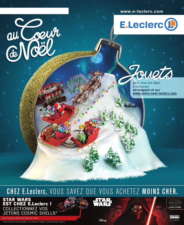 Catalogue Leclerc Spécial Jeux Et Jouets Noël 2015 By Margot ... serapportantà Piscine Gonflable Leclerc