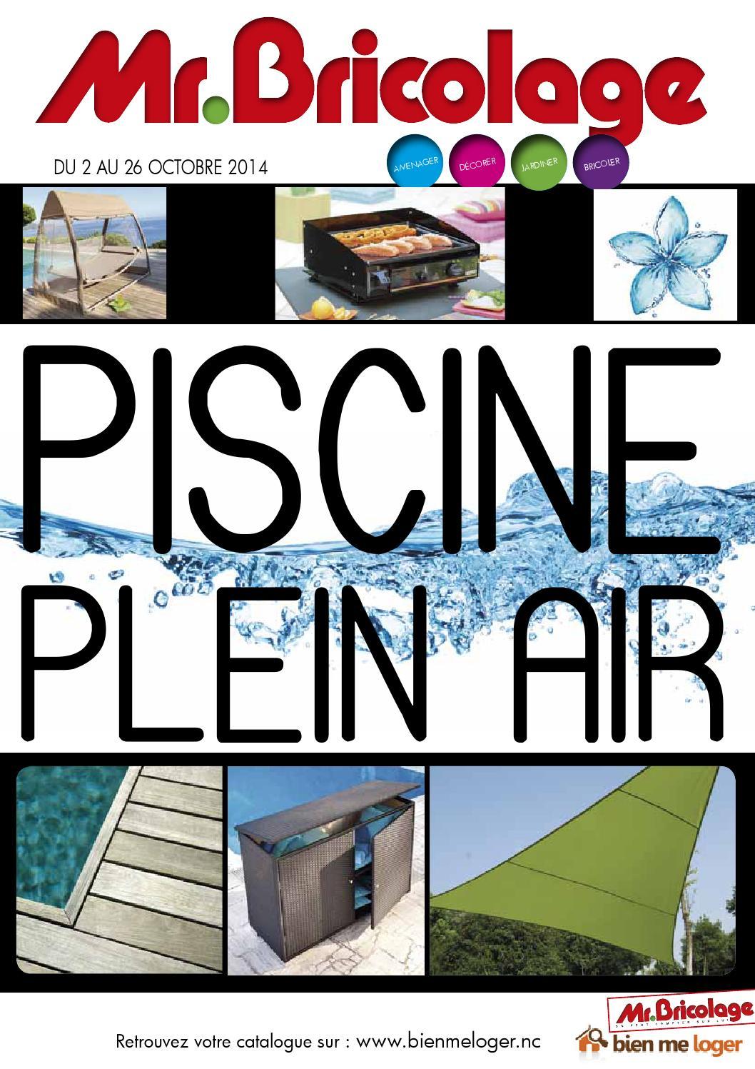 Catalogue M. Bricolage By Skazy - Issuu intérieur Mr Bricolage Piscine