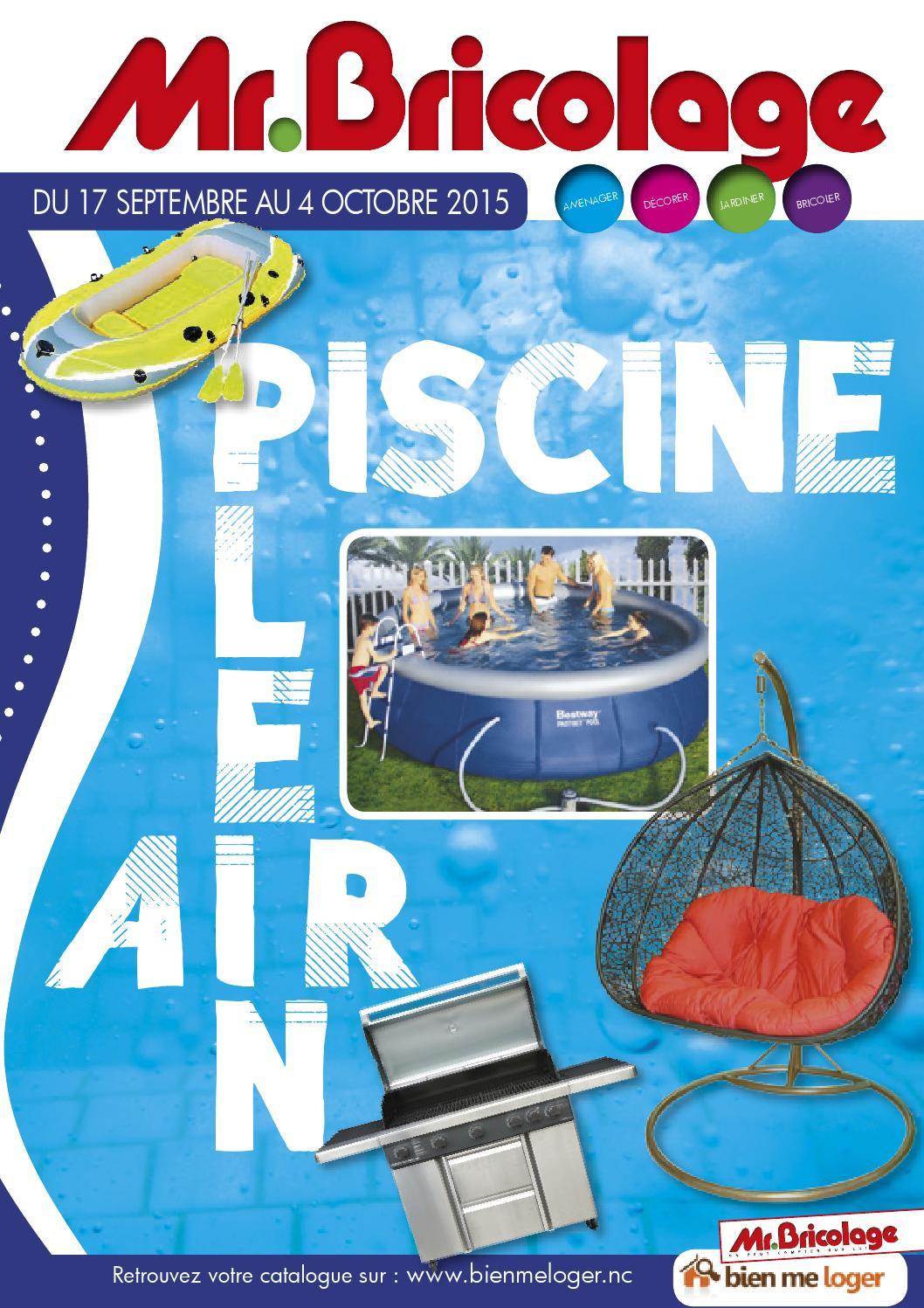 Catalogue Mr Bricolage By Skazy - Issuu à Mr Bricolage Piscine