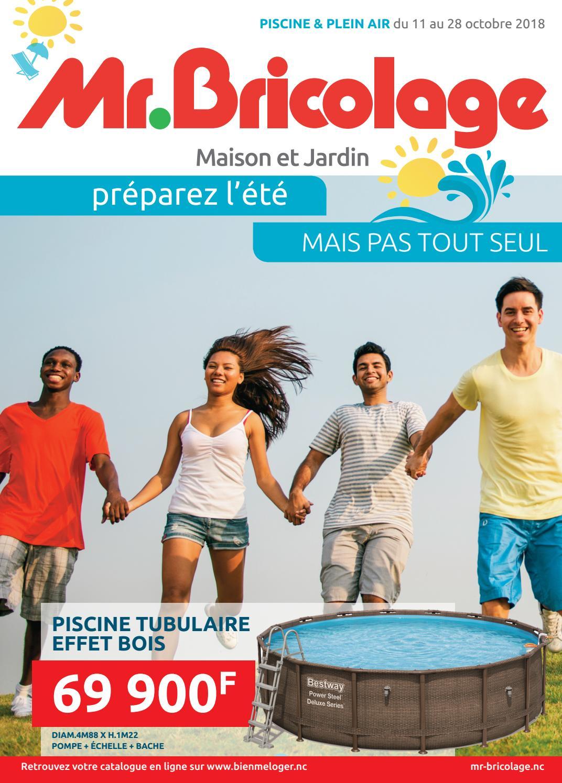 Catalogue Mr Bricolage: Piscines & Plein Air By Skazy - Issuu intérieur Mr Bricolage Piscine