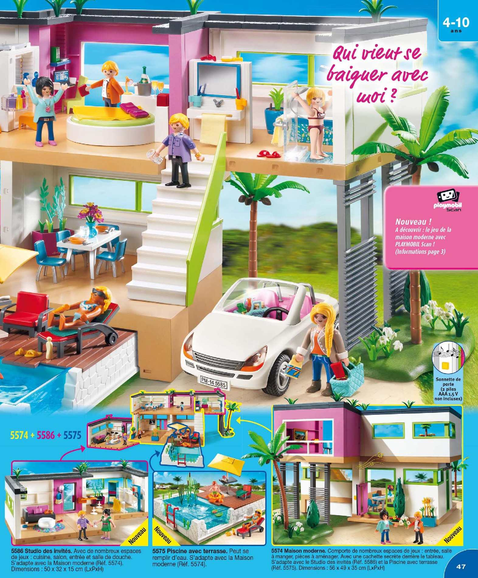 Catalogue Playmobil 2015 - Calameo Downloader encequiconcerne Piscine Playmobil 5575