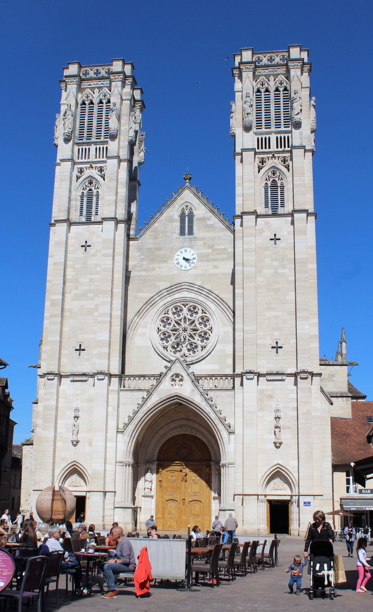 Cathédrale Saint-Vincent De Chalon-Sur-Saône — Wikipédia avec Piscine De Chalon Sur Saone