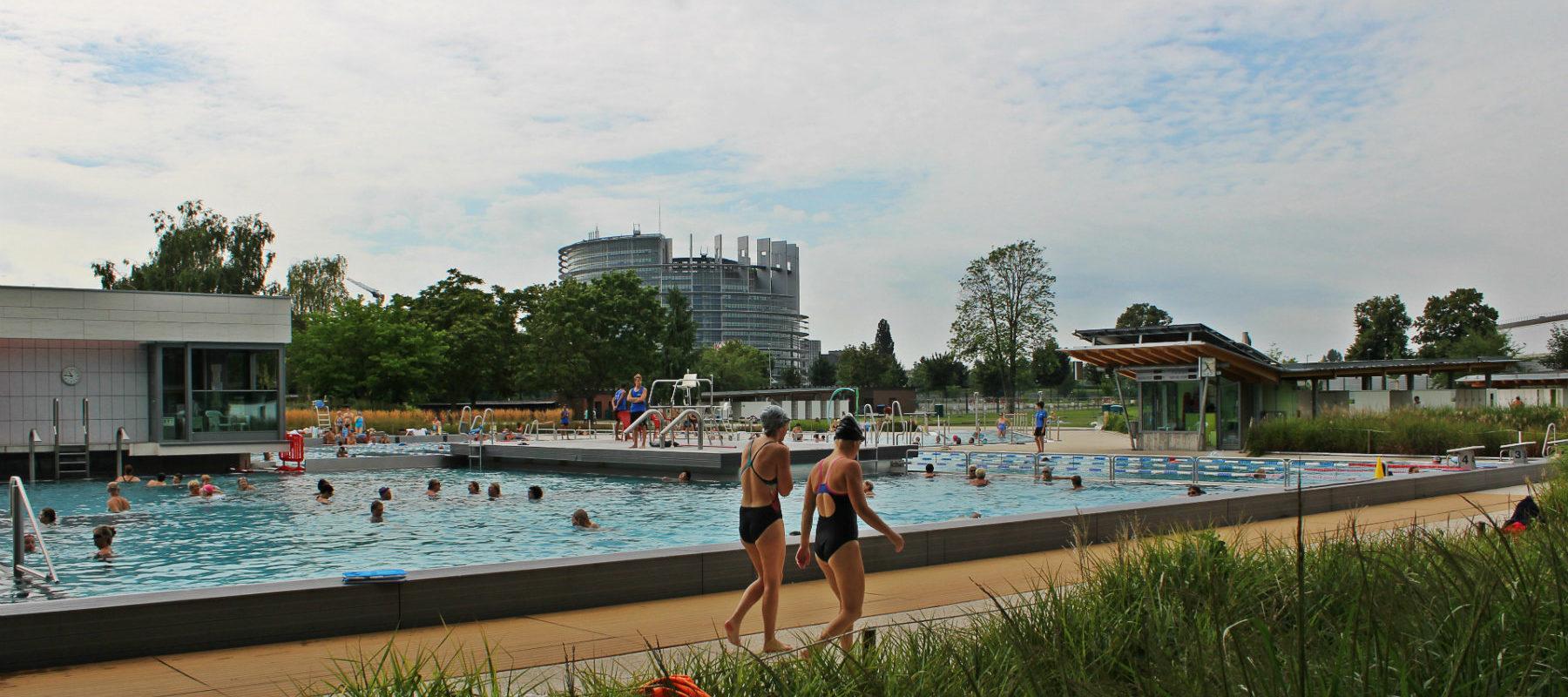Ce Que La Rénovation Des Piscines A Changé À Strasbourg dedans Piscine Cus