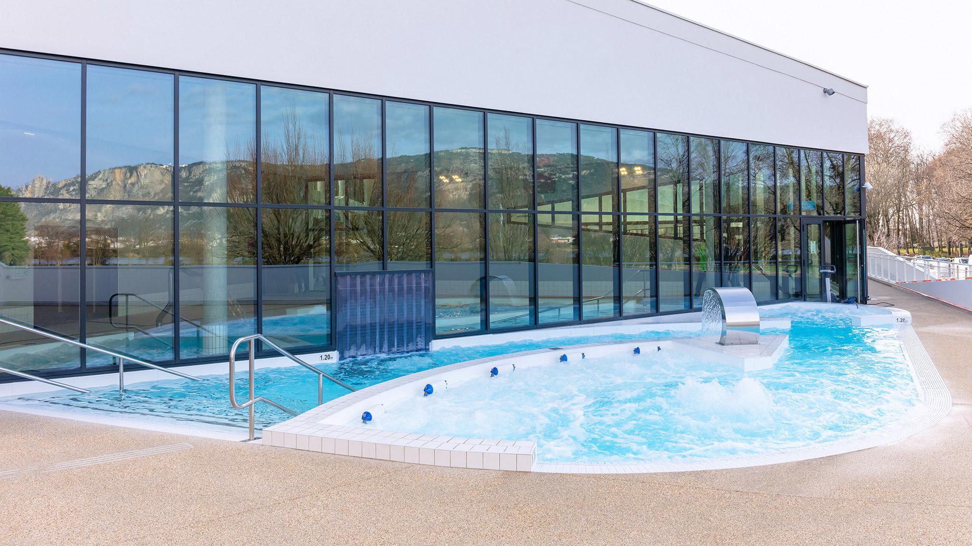 Centre Aqualudique De L'epervière À Valence (26) pour Piscine Du Rhone Tarif