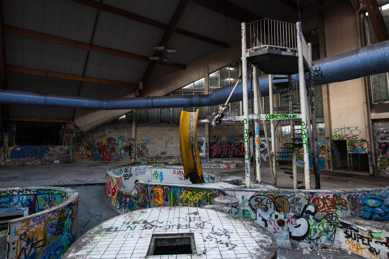 Centre Aquatique Abandonné - Piscine Océade - Monsieur Et ... concernant Piscine Barentin