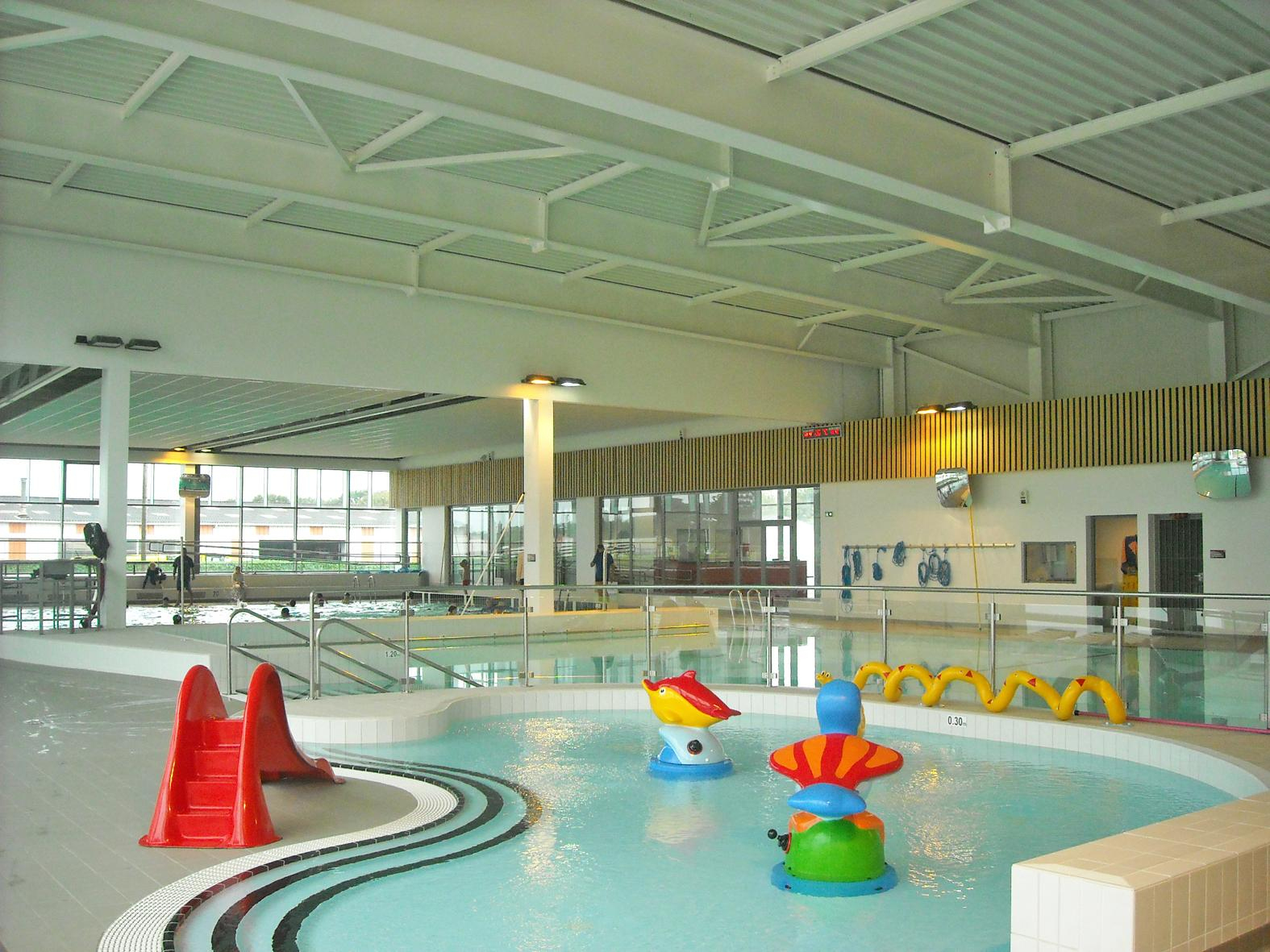 Centre Aquatique Aqua'lud - Locmine (56) - Baudin Chateauneuf concernant Piscine Locminé