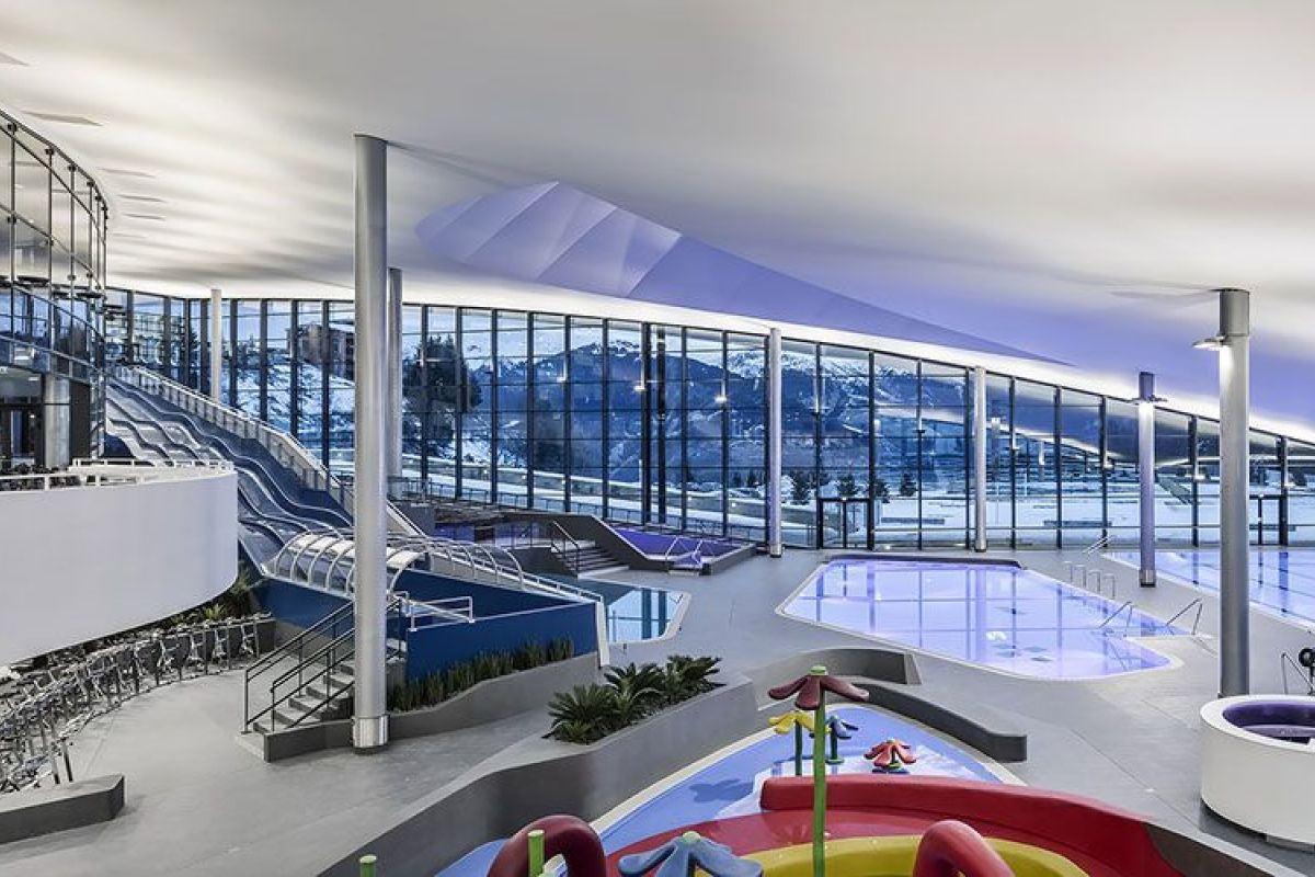 Centre Aquatique Aquamotion - Piscine À Courchevel ... destiné Piscine Courchevel