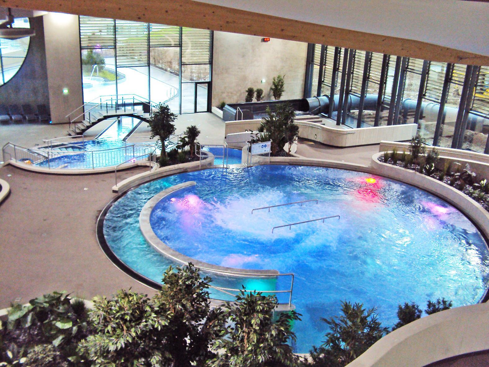 Centre Aquatique Aquasud - Differdange (Luxembourg) - Baudin ... avec Piscine Differdange