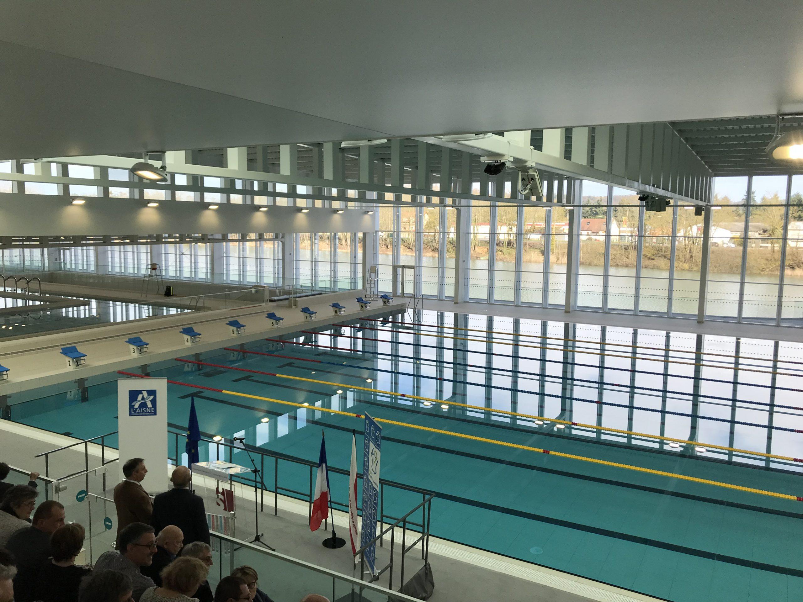 Centre Aquatique De Mercin-Et-Vaux – Les Bains Du Lac ... avec Piscine Soissons