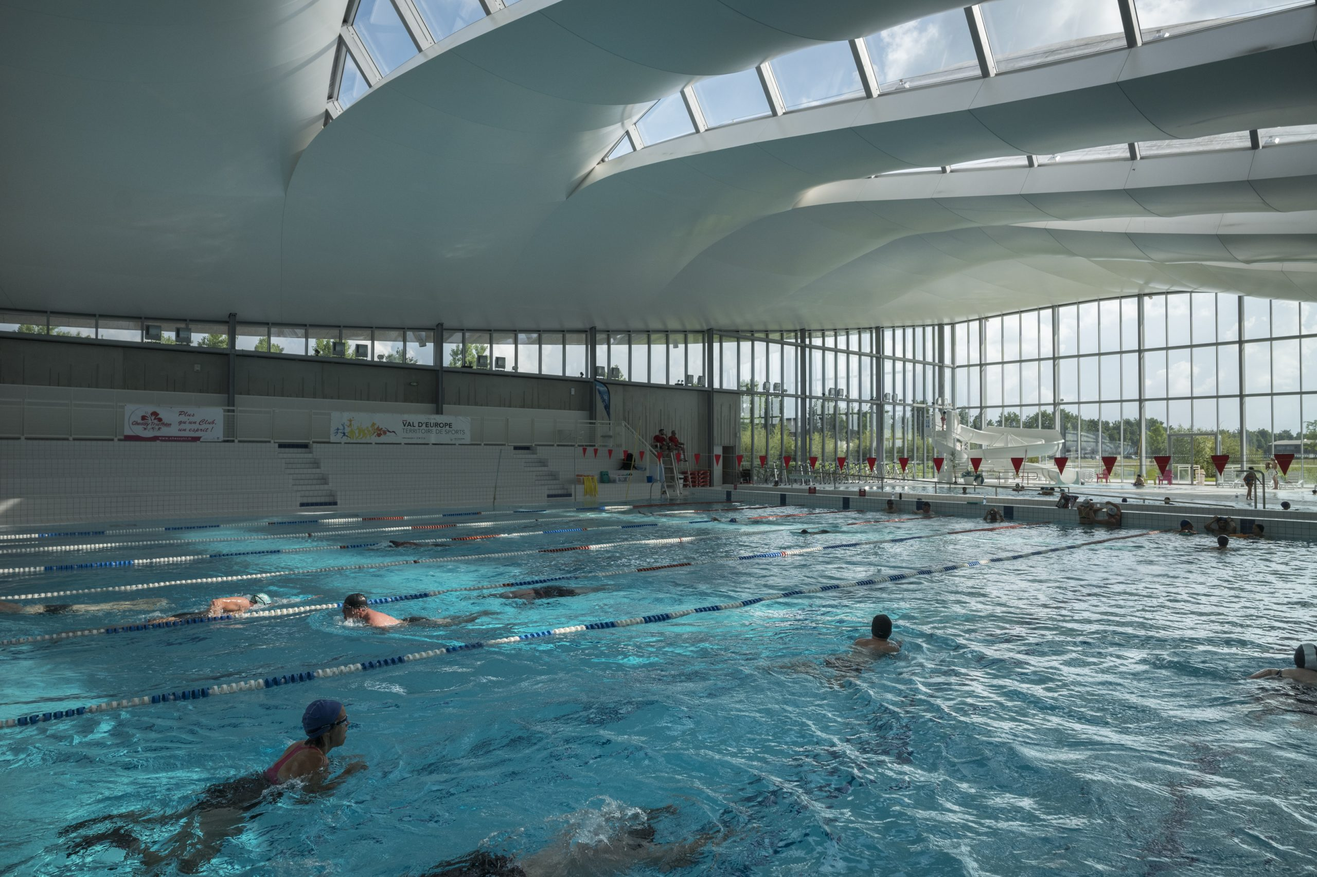 Centre Aquatique De Val D'europe - Bailly Romainvilliers dedans Piscine Serris