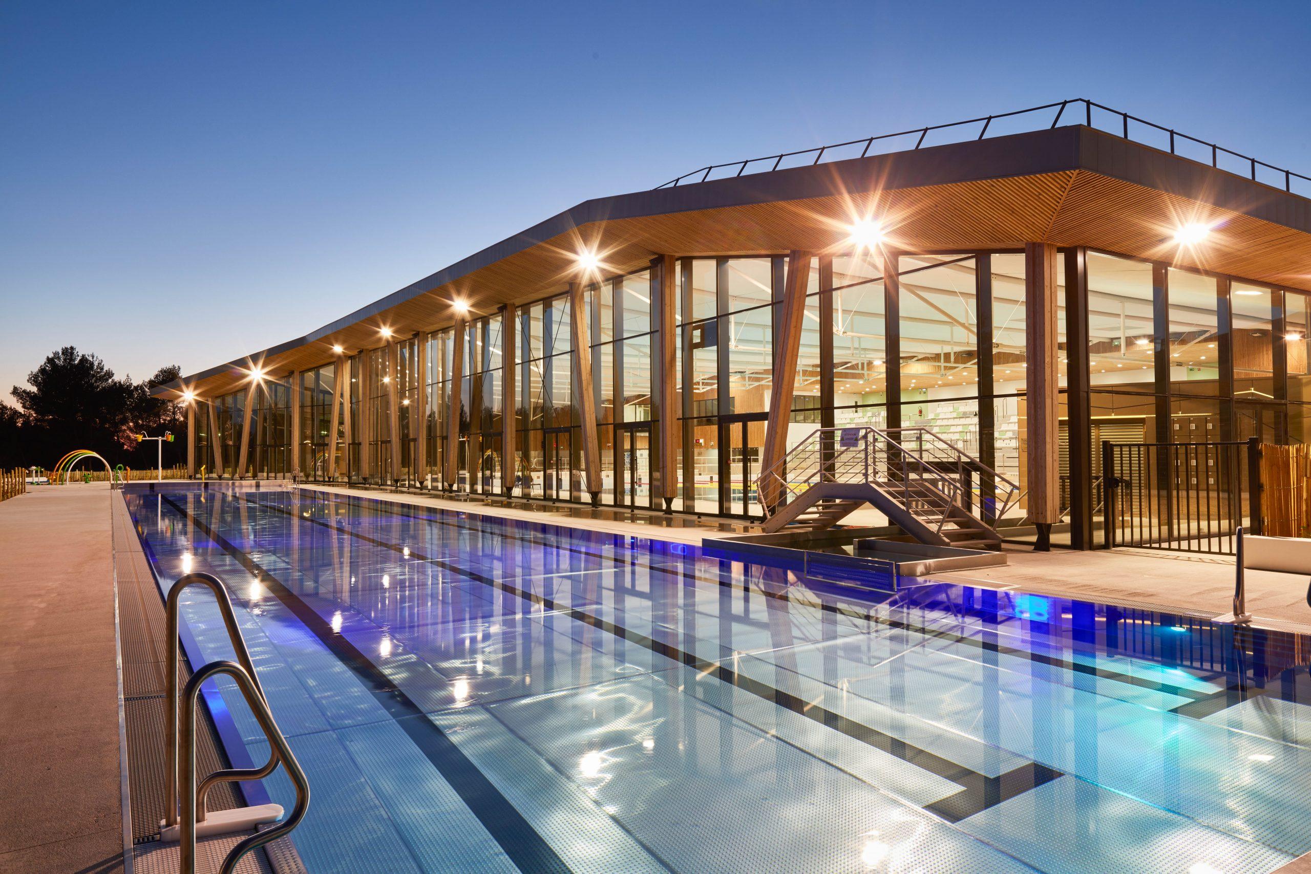 Centre Aquatique De Venelles - Engie Axima serapportantà Piscine Venelle