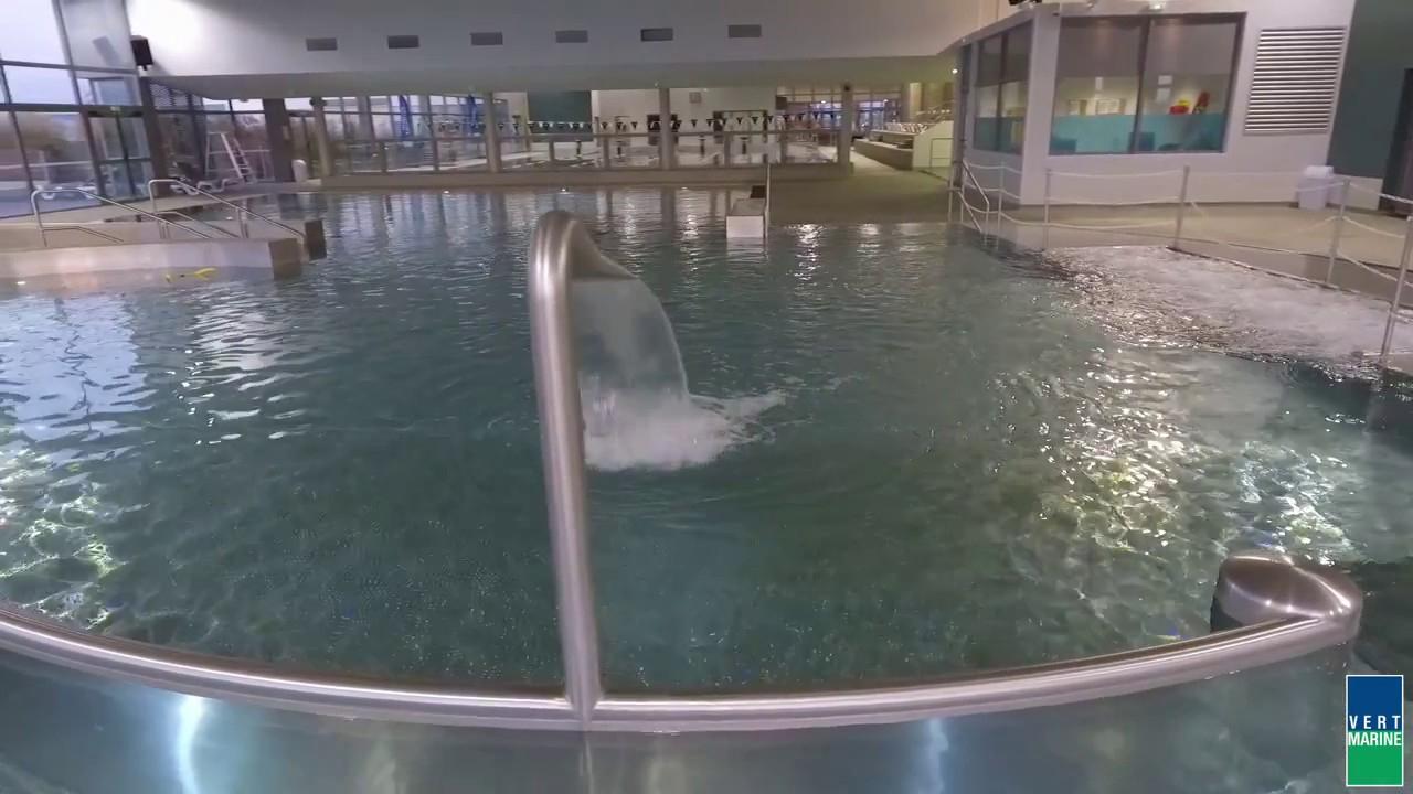 Centre Aquatique Diabolo (Bourg-De-Péage 26) - Vert-Marine - Drone At Work destiné Piscine Diabolo