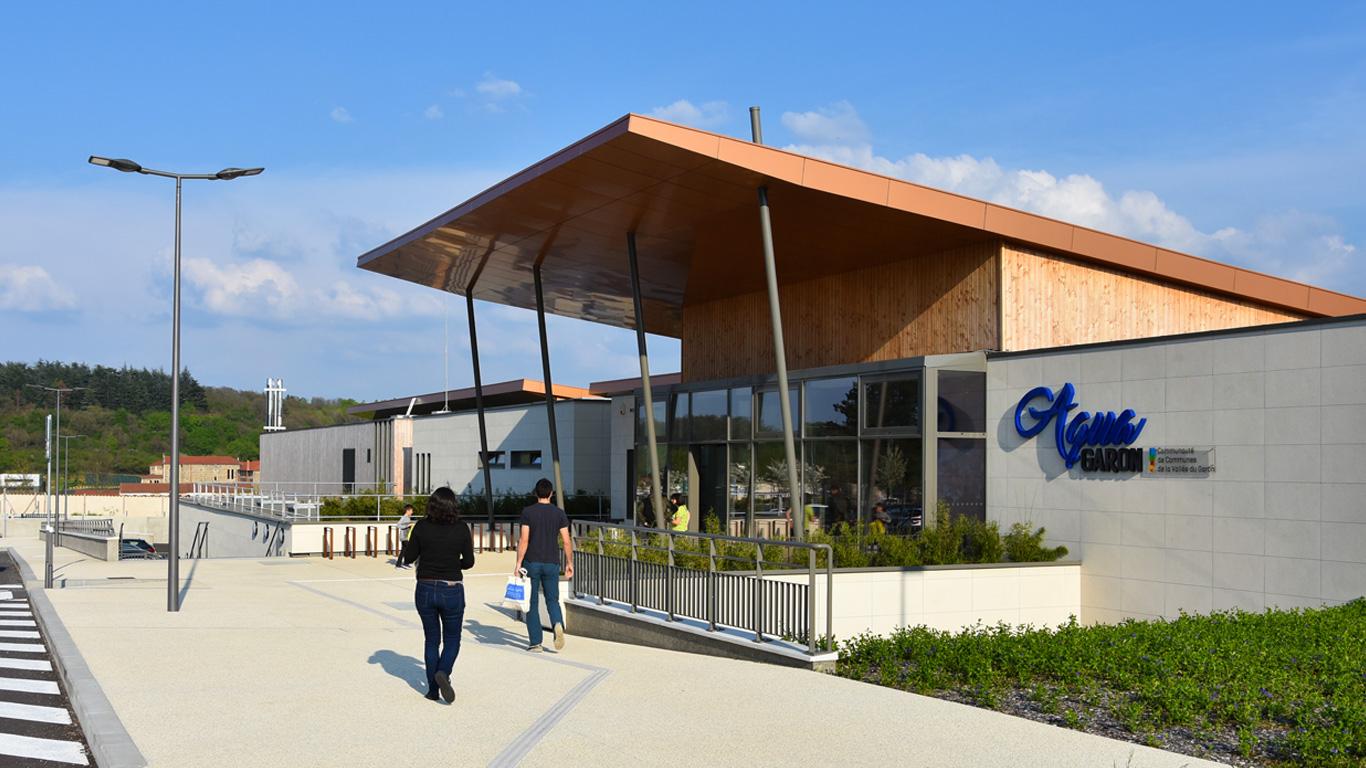 Centre Aquatique Intercommunal : Aquagaron - Ville De Millery pour Piscine De Brignais