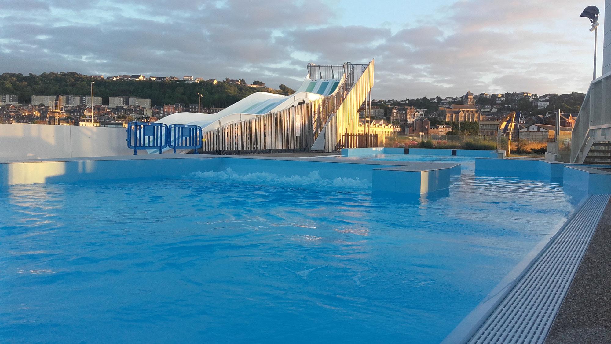 Centre Aquatique Intercommunal (O2 Falaises) – Mers-Les-Bains serapportantà Piscine Falaise